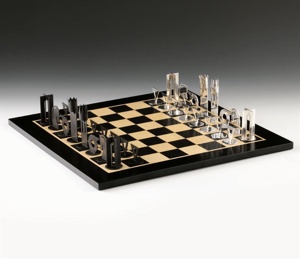 Seltenes Schachfiguren-Set